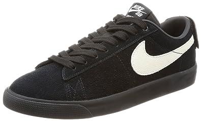 9d26589cc203 Nike Men s Blazer Low GT Skateboarding Shoe (8) Black