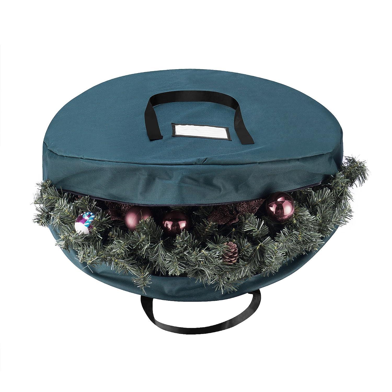 amazon com elf stor supreme canvas holiday christmas wreath