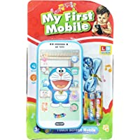 Shanaya Toys Digital Mobile Phone with Touch Screen Feature, Amazing Sound and Light Toy - DORAMON
