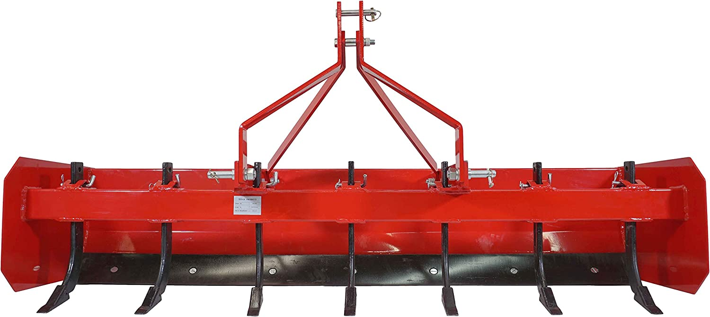 Titan 4-7 Box Blade Tractor Attachment Category 1 Cat 0 Scarifier Shank