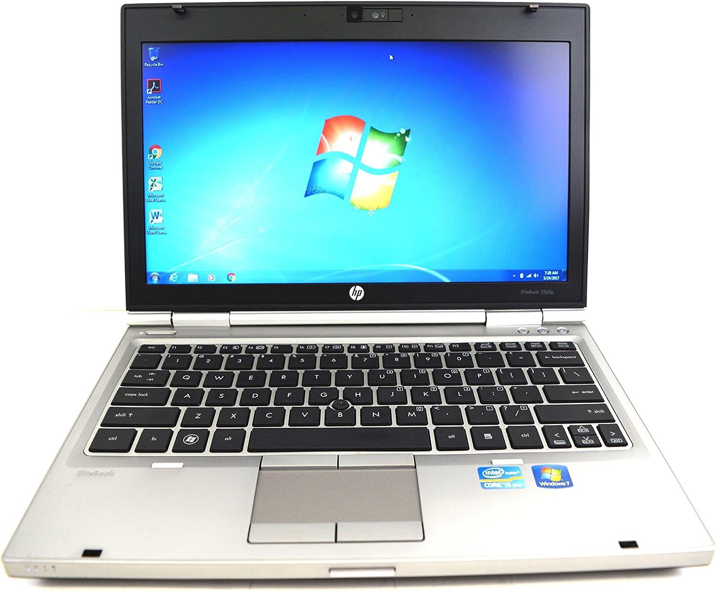HP EliteBook 2560p Intel Core i5-2520M X2 2.5GHz 4GB 320GB DVD+/-RW 12.5'' Win7Pro (Silver)