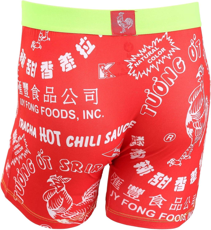 Crazy Boxers Sriracha Mens Boxers Briefs