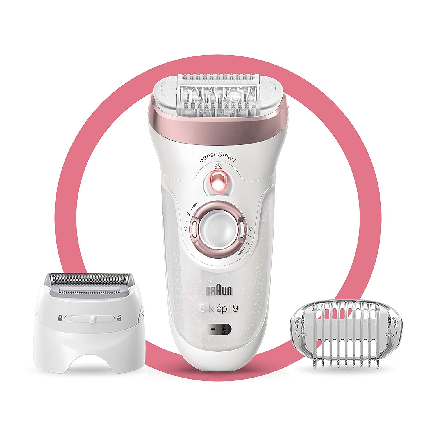 Braun Epilator Silk épil 9 9 720 Facial Hair Removal For Women Wet Dry Womens Shaver Trimmer Cordless Rechargeable Beauty