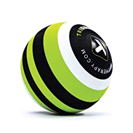 【日本正規品 1年保証】 トリガーポイント(TRIGGERPOINT) マッサージボール MB5 大きいモデル 筋膜リリース 直径12cm グリーン 04422