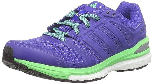 cheaper 01278 4a93a adidas Women s Supernova Sequence Running Shoes Blue Size  4 UK