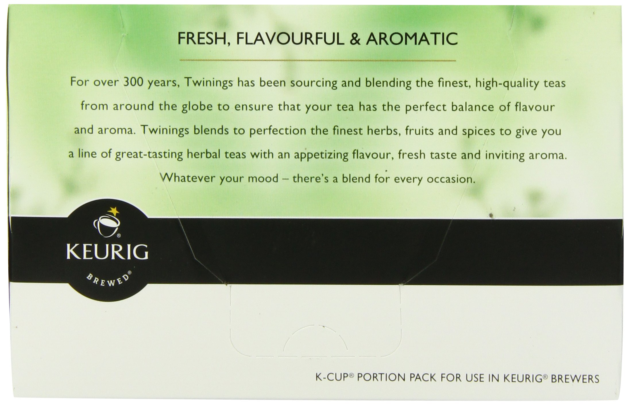 Twinings of London Pure Peppermint Tea K-Cups for Keurig, 12 Count (Pack of 6) by Twinings (Image #4)
