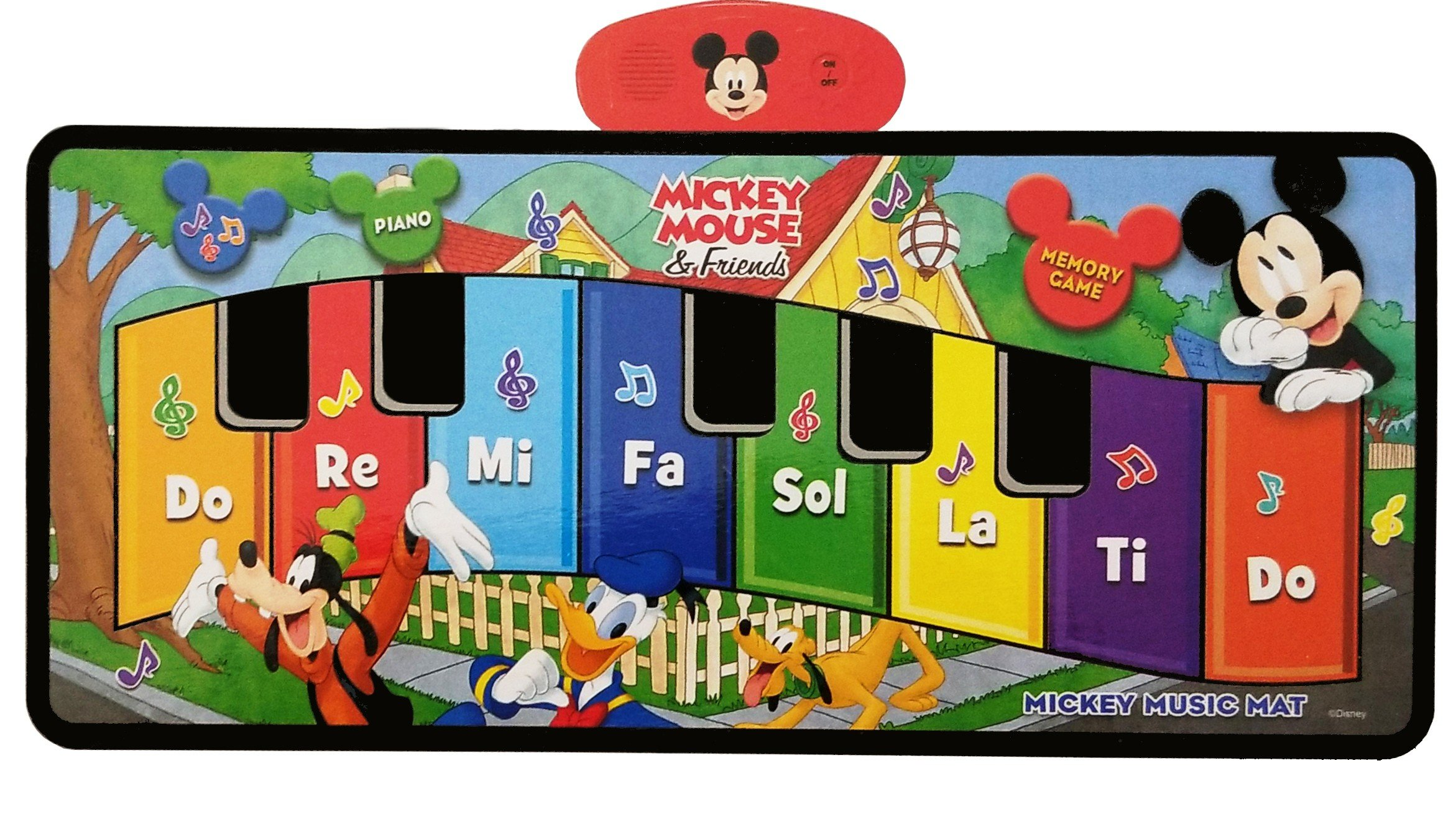 Disney Junior Mickey Mouse Music Mat by Disney (Image #1)