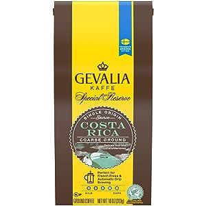Gevalia Costa Rica Coarse Ground Coffee (10oz Bag)