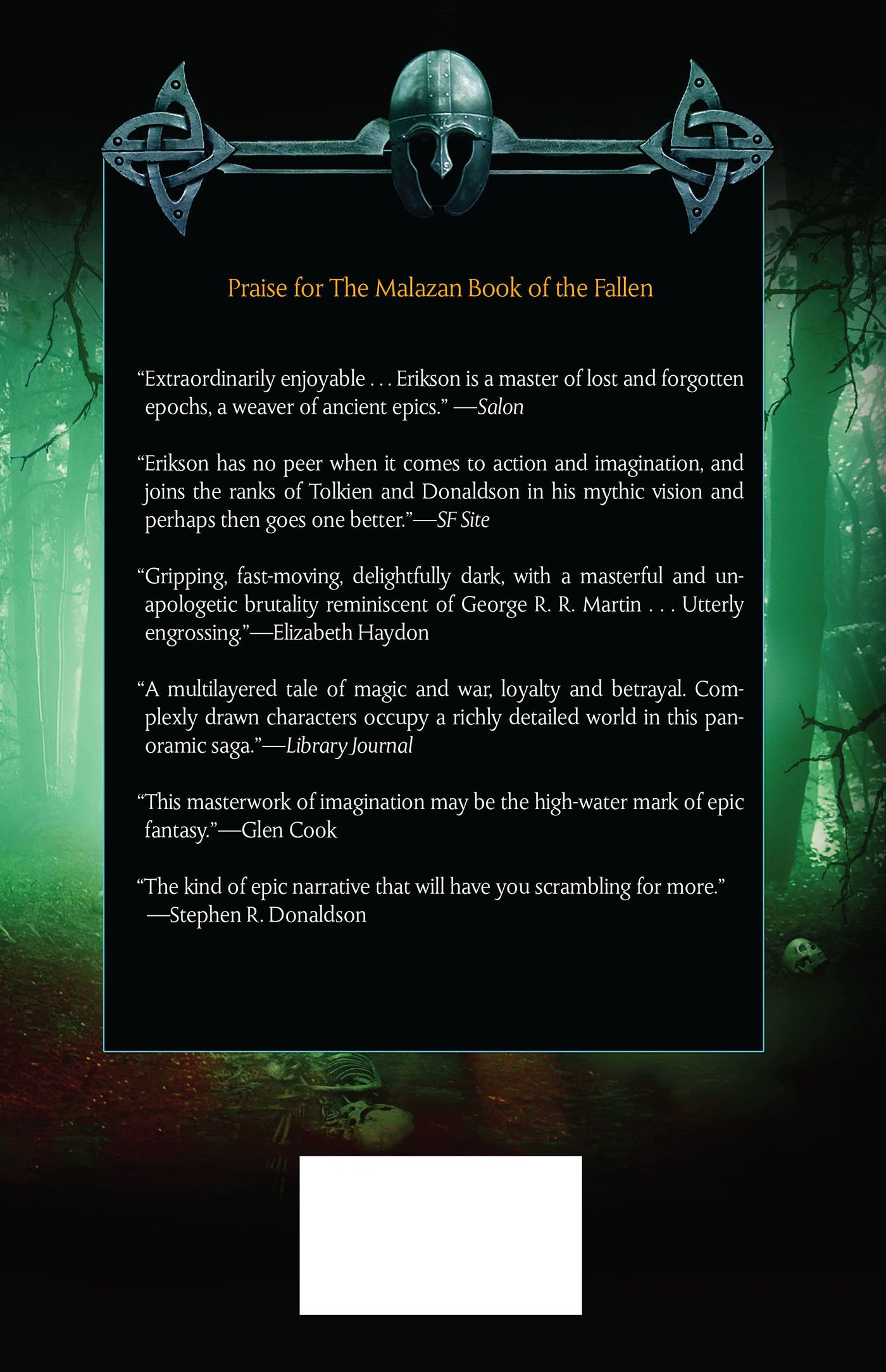 Crack'd Pot Trail: A Malazan Tale Of Bauchelain And Korbal Broach: Steven  Erikson: 9780765330468: Amazon: Books