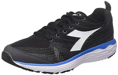 Diadora Flamingo, Chaussures de Running Homme, Gris (Grigio Nero), 40 EU
