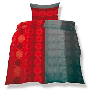 Bettwäschegarnituren Mikrofaser Doppelbett 200x200 3-teilig Living aqua-textil
