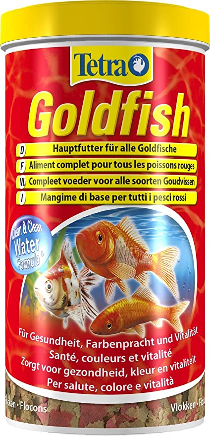10 opinioni per Tetra Goldfish- 1000 ml