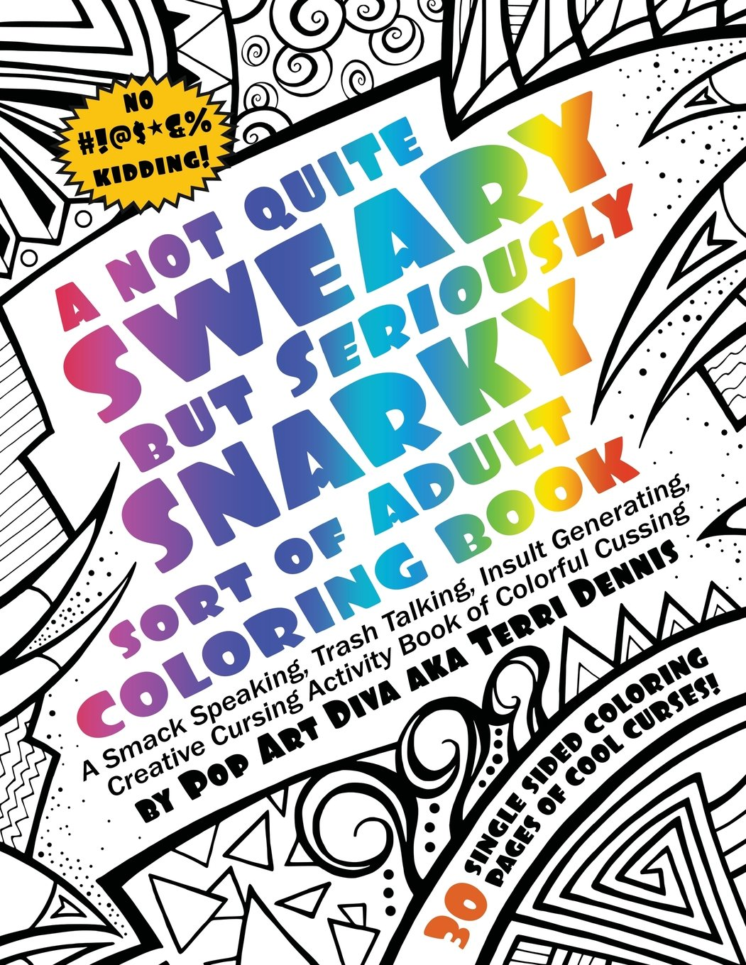 - Amazon.com: Not Quite SWEARY But Seriously SNARKY ADULT SWEAR WORD