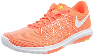 big sale 95b98 0e4e0 Nike Flex Fury 2, Chaussures de Running Entrainement Femme, (Hyper  Orange White