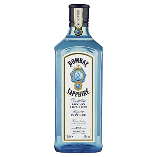 15 opinioni per Gin Bombay Sapphire London Dry Gin 0,70 lt.
