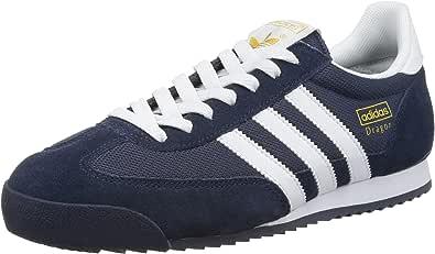 adidas Originals Dragon, Zapatillas para Hombre, Azul (New Navy/White/Metallic Gold), 48 2/3 EU: Amazon.es: Zapatos y complementos