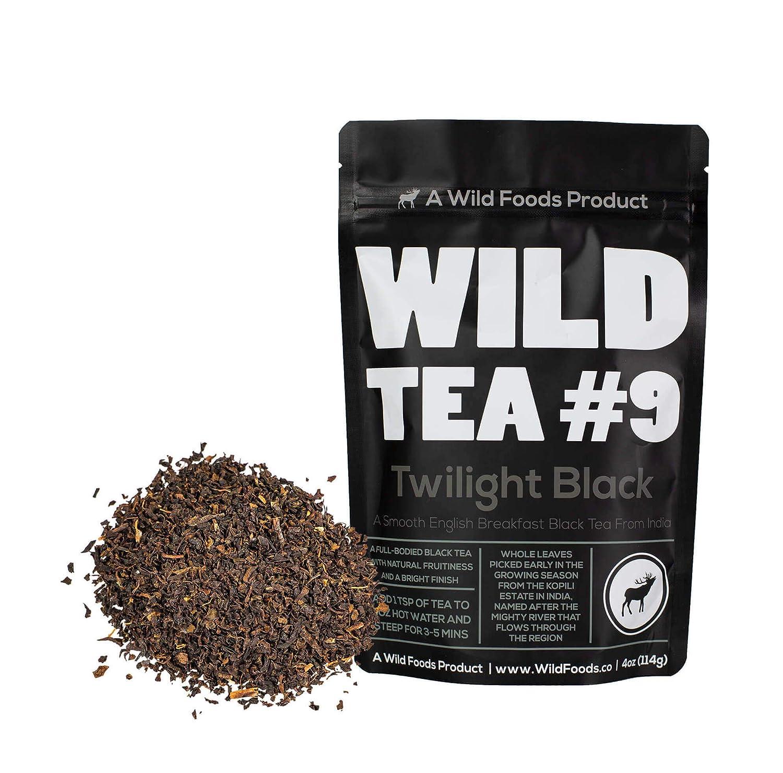 Black Tea From India, English Breakfast Wild Tea #9 Loose Leaf Tea Black Tea (4 ounce)