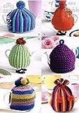 King Cole 9014 Knitting Pattern 6 Tea Cosies in King Cole Merino Blend DK