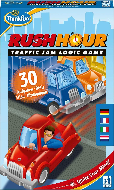 Think Fun - Rush Hour Juego de acción y reflejos con coches (76369): Yoshigahara, Nob: Amazon.es: Juguetes y juegos