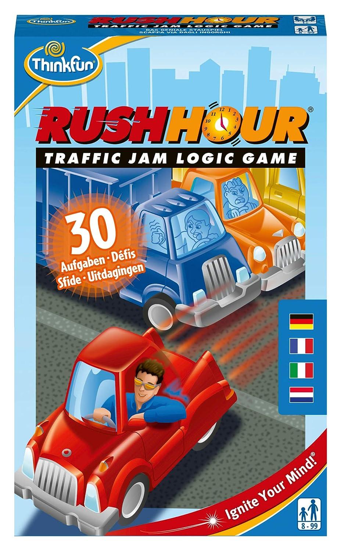 ThinkFun 76369 Rush Hour Juego de Souvenir: Amazon.es: Juguetes y ...