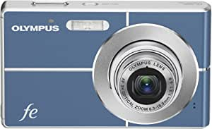 Olympus FE-3000 10MP Digital Camera with 3x Optical Zoom and 2.7-inch LCD (Light Blue)