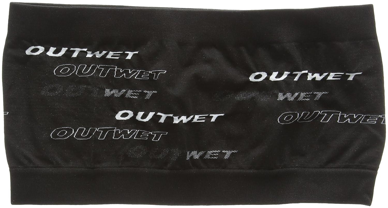 Outwet OWBANDBK Bandeau Mixte Adulte, Noir, FR Fabricant : Taille Unique OUTXG|#OUTWET OW-BAND BLACK