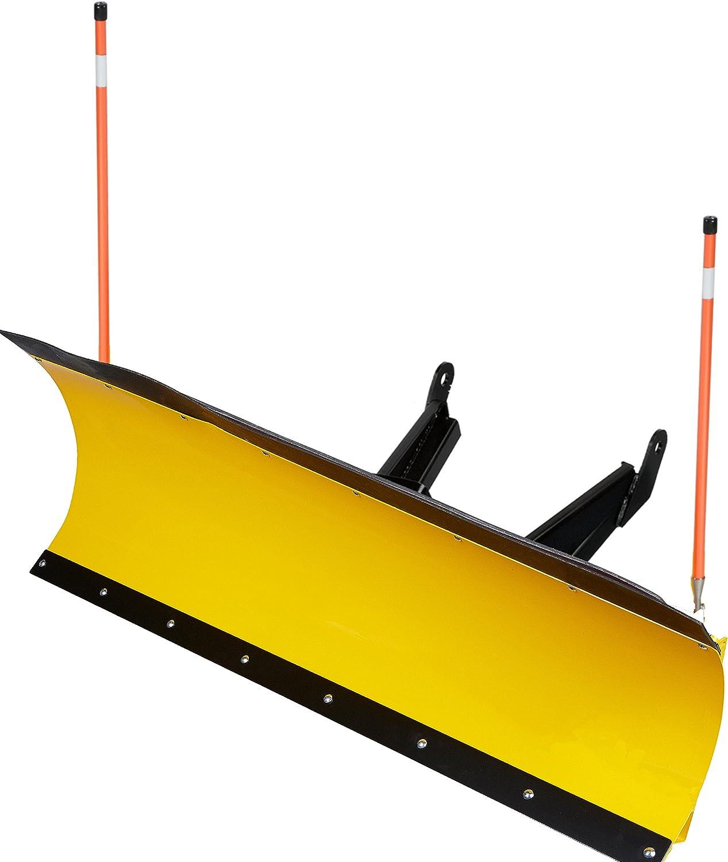 FX MotoAlliance DENALI 66 Pro UTV Snow Plow w//Hydroturn YELLOW 15-19 Mule PRO FXT DXT