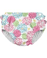 i play. Baby & Toddler Girls' Ruffle Snap Reusable Absorbent Swim Diaper