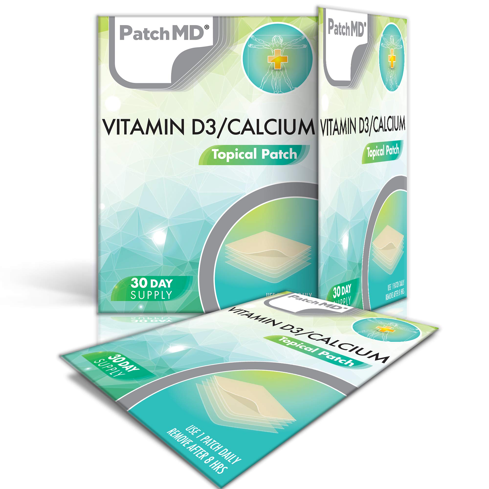 PatchMD - D3/Calcium Patch, 30-Day Supply