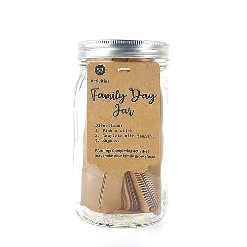 Amazon Com 52 Family Activities Handmade Family Day Jar Family Activity Kit Kid Activity Set Family Activity Gifts Handmade