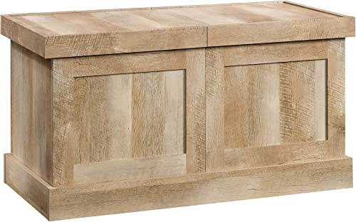 Sauder Cannery Bridge Crate Coffee Table, Lintel Oak finish