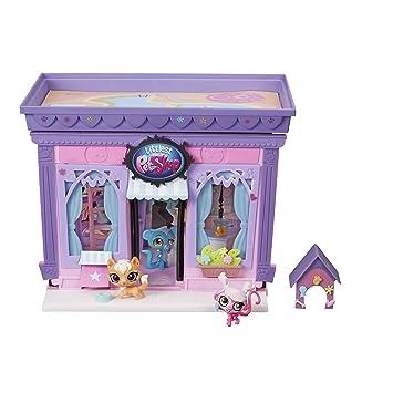 amazon com littlest pet shop style set toys games