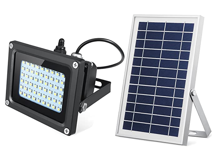 Amazon solar outdoor lights 54 led 500 lumens outdoor indoor solar outdoor lights 54 led 500 lumens outdoor indoor solar flood light solar security light for aloadofball Image collections