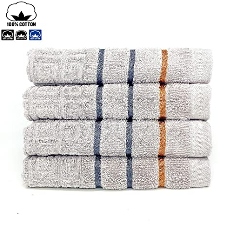 100% toallas de algodón de (13. 8 x 29.5inches) – de