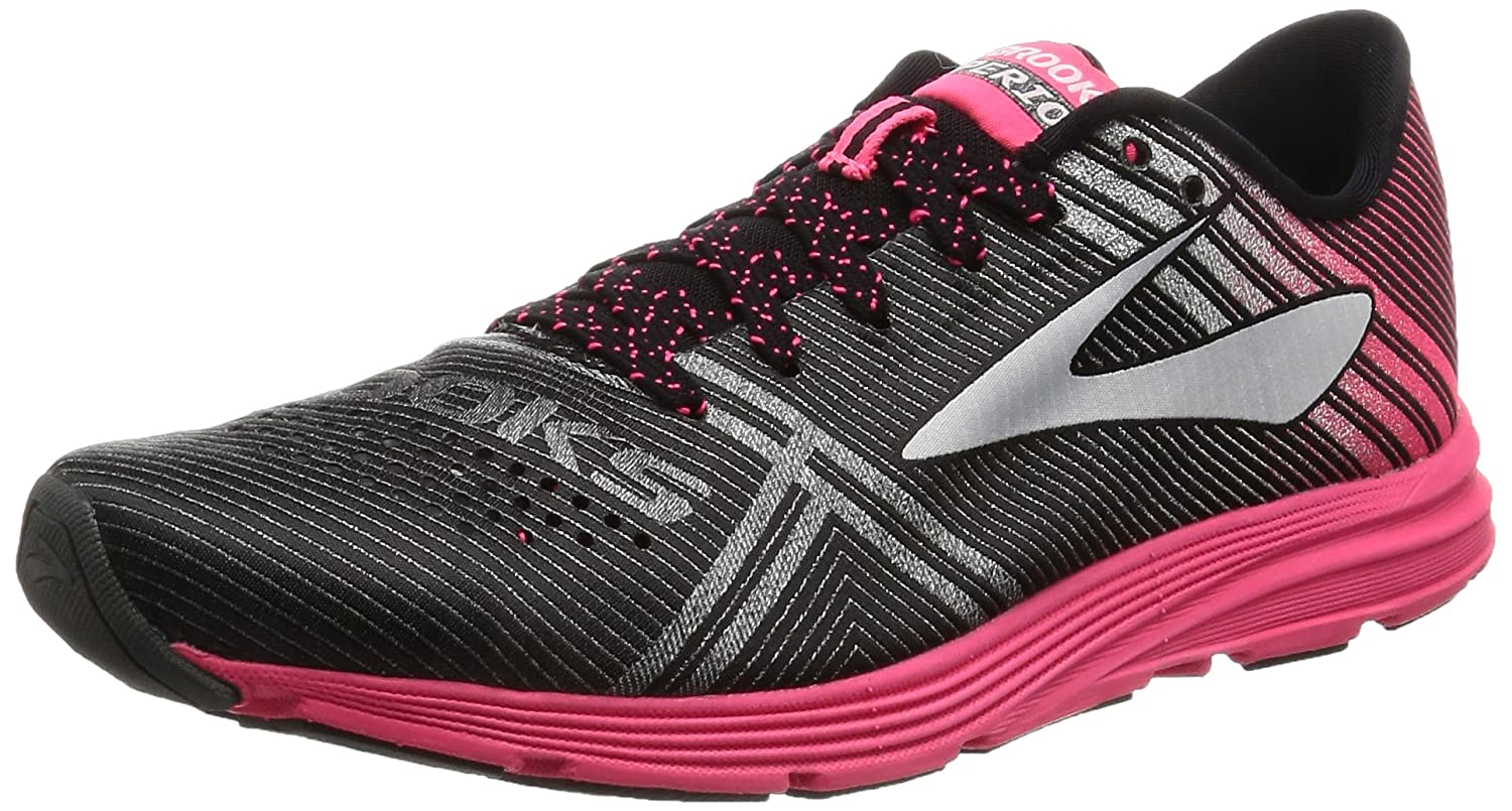 Brooks Womens Hyperion B01N8XJTZG 10 B(M) US|Black/Diva Pink/Diamond Yarn
