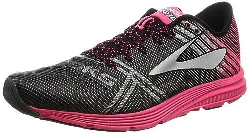 cab65129ede Brooks Women s Hyperion Running Shoe (BRK-120226 1B 3888130 6 069 Black Pink