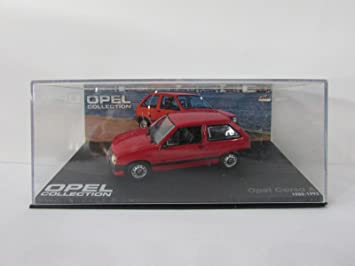 Jouets Opel Voiture AJeux Et Corsa Eaglemoss 143 Ow8nPk0