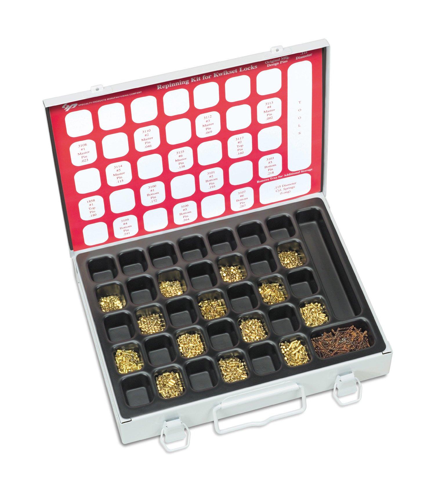Kwikset Locks MasterKey Pin Kit , for Standard or Master Key Pinning