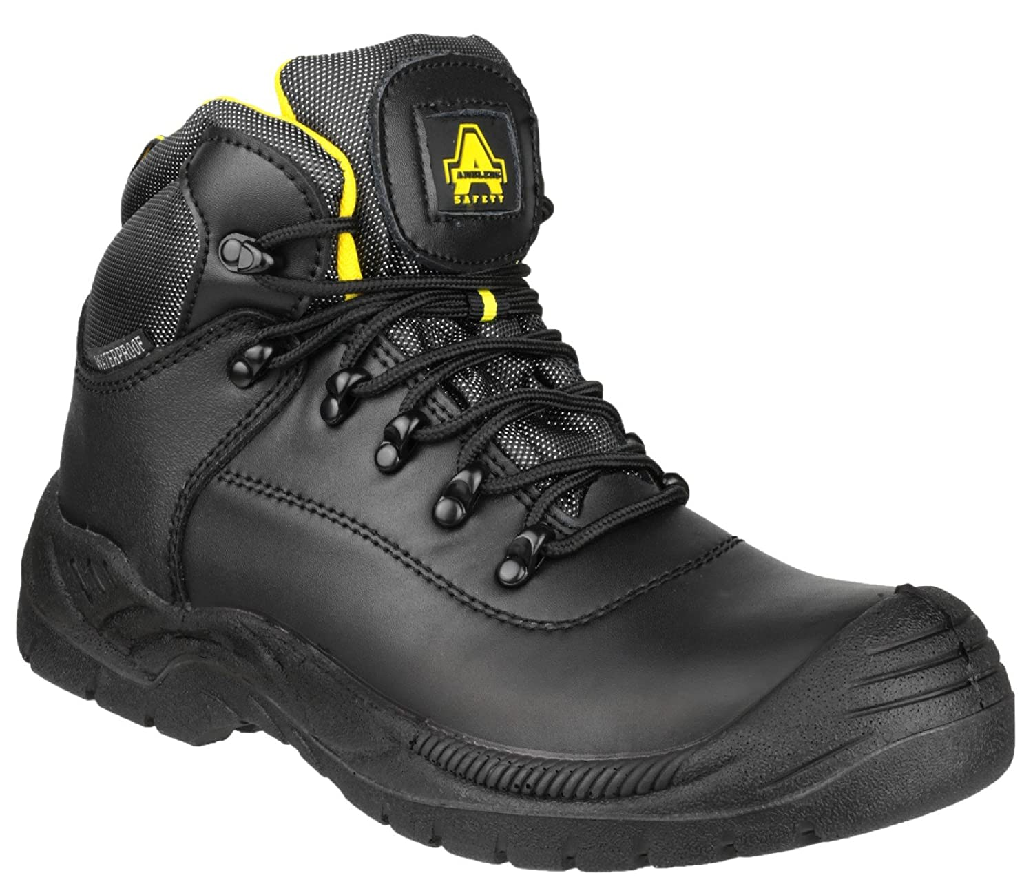 Amblers Safety FS220 Unisex S3 W//P Safety Boots Black
