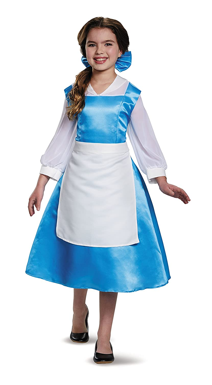 Amazon.com: Belle Blue Dress Tween Disney Princess Beauty & The ...