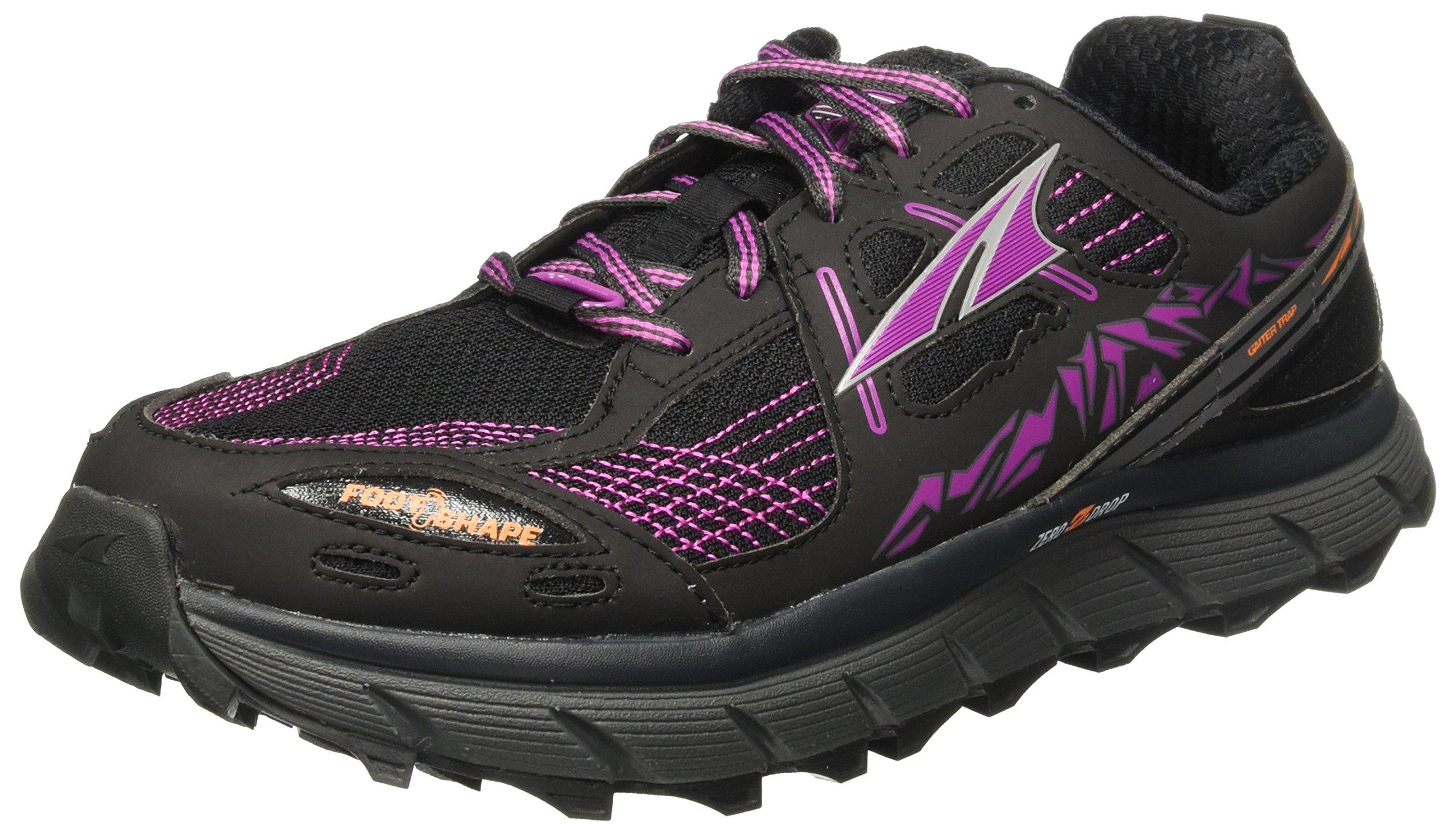 Altra Women's Lone Peak 3.5 Road Running Shoe, Purple/Orange - 7 by Altra