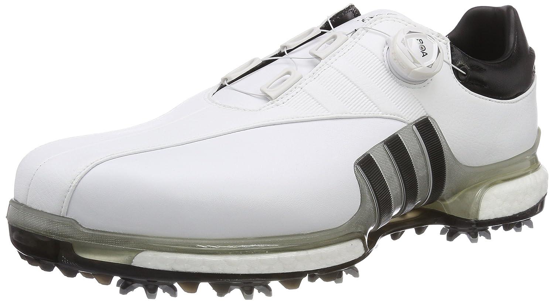 [アディダスゴルフ] ゴルフシューズ ツアー360 EQT ボア メンズ B0792SY5CB 26.5 cm ホワイト/シルバーメタリック/コアブラック