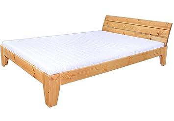 Sólido cama de pino maciza Eco 160 x 200 con 2 Juego Láminas y 2 colchones 60.62 - 16 MT2 KF2: Amazon.es: Hogar