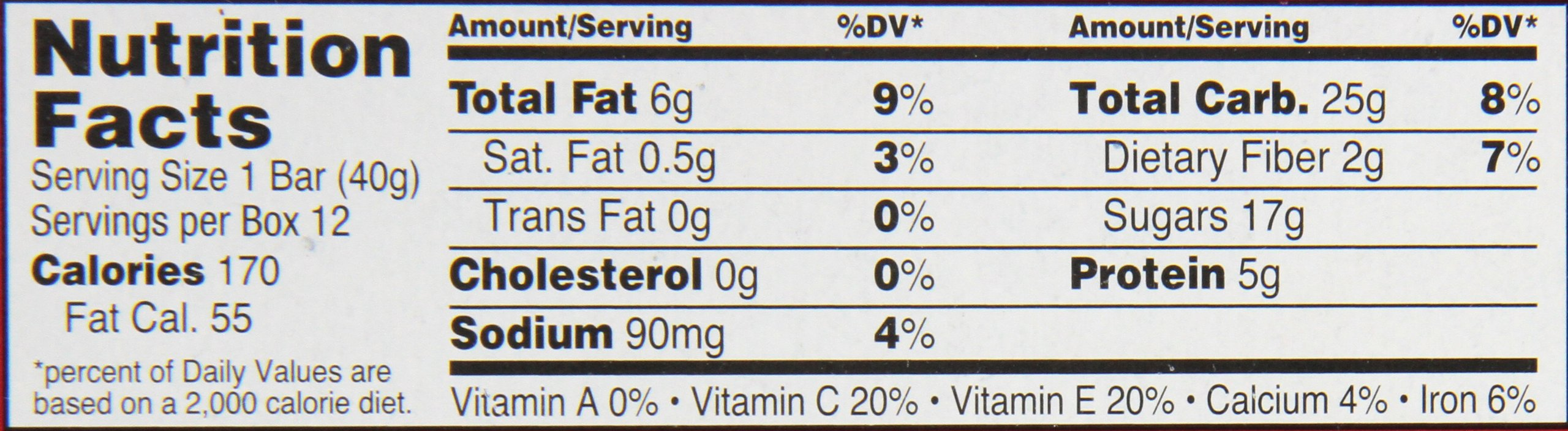 Orchard Bars Fruit and Nut Bar, Strawberry/Raspberry/Walnut, 1.4 Ounce (Pack of 12) by Orchard Bars (Image #2)
