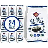 KPOP Foods Seaweed Snacks - 5 grams, Lightly Salted Roasted Seaweed - Korean Snacks, Vegan Snacks, Keto Snacks, Certified Org