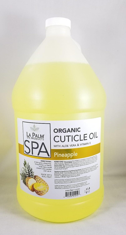 Cuticle Oil - Pineapple Yellow - 1 Gallon - With Aloe Vera & Vitamin E