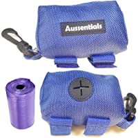 Doggy Poop Waste Bags Dispenser - with Free Roll of Bags and Easy Leash Attachement. Lightweight and Fits Any Dog Leads.