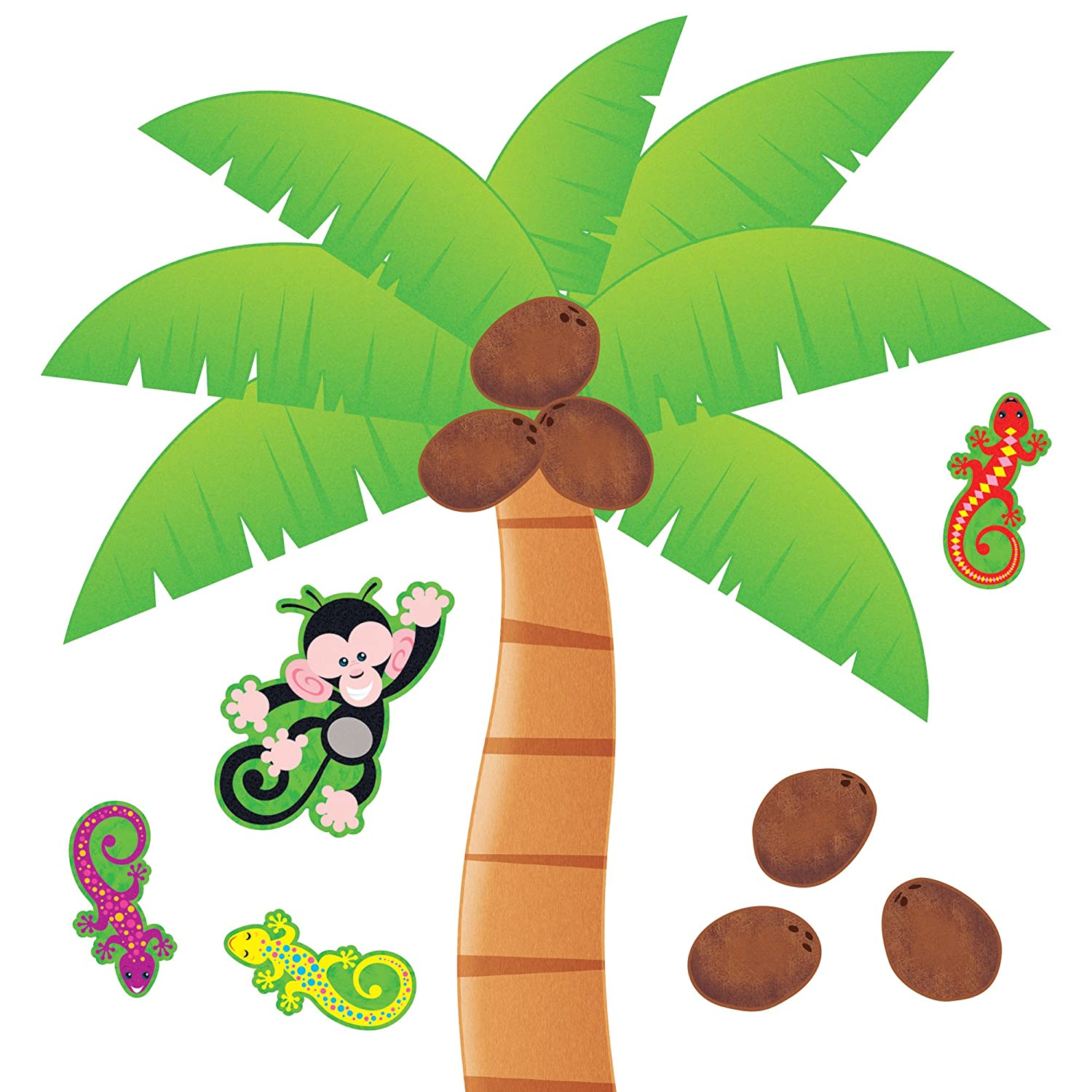 image about Chicka Chicka Boom Boom Tree Printable referred to as Palm Tree Bulletin Board Mounted