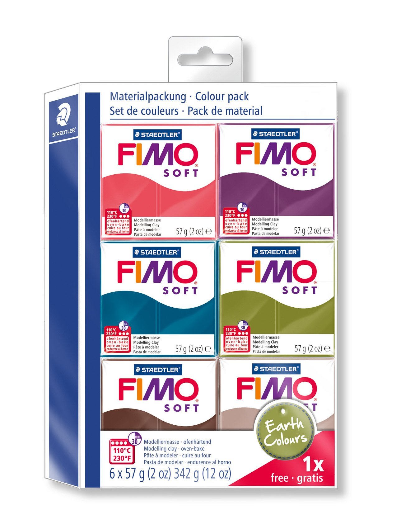 FIMO Effect Polymer Oven Modelling Clay 57g Buy 5 Get 2 Free All 36 Colours