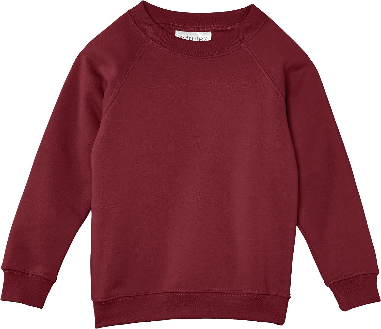 Trutex Limited Unisex Crew Neck Plain Sweatshirt